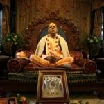 Srila Prabhupada murti in the temple room