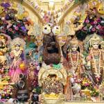 Temple room altar